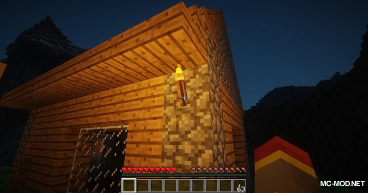 The Middle Torch mod for Minecraft (8)