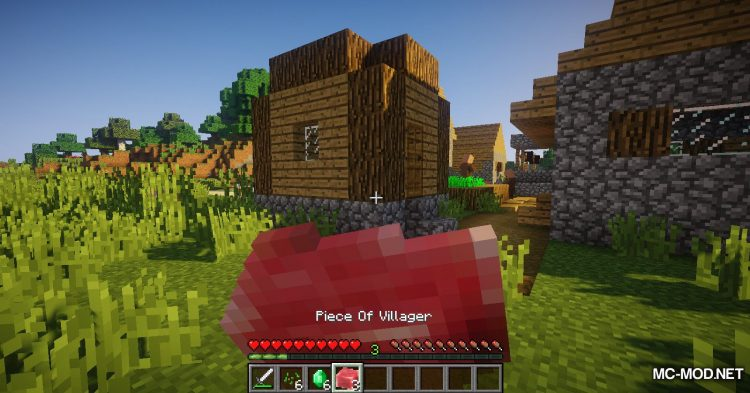 Villager Drop mod for Minecraft (6)