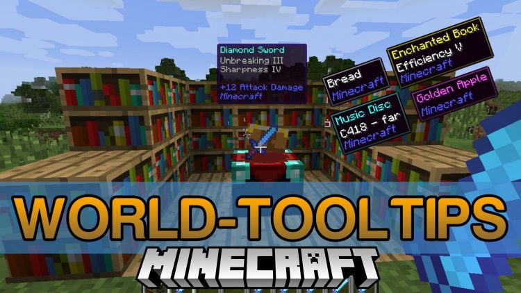 World-Tooltips Mod for Minecraft LOGO