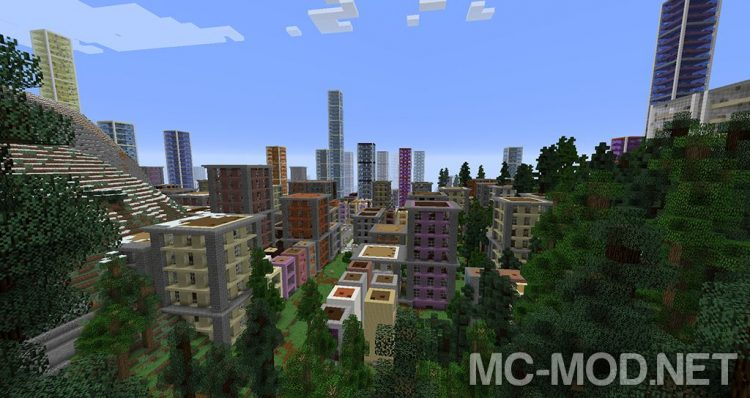 dooglamoo cities mod for minecraft 01
