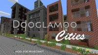 dooglamoo cities mod for minecraft logo
