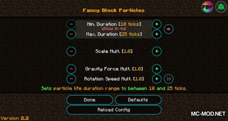 fancy block particles mod for minecraft 06