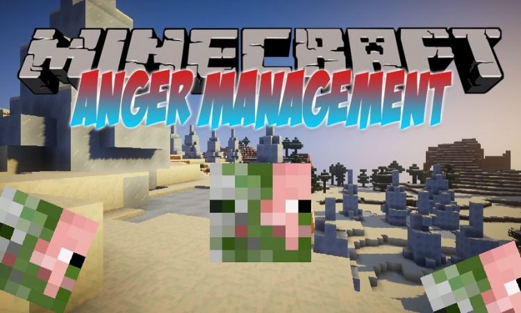 Anger Management mod for Minecraft logo
