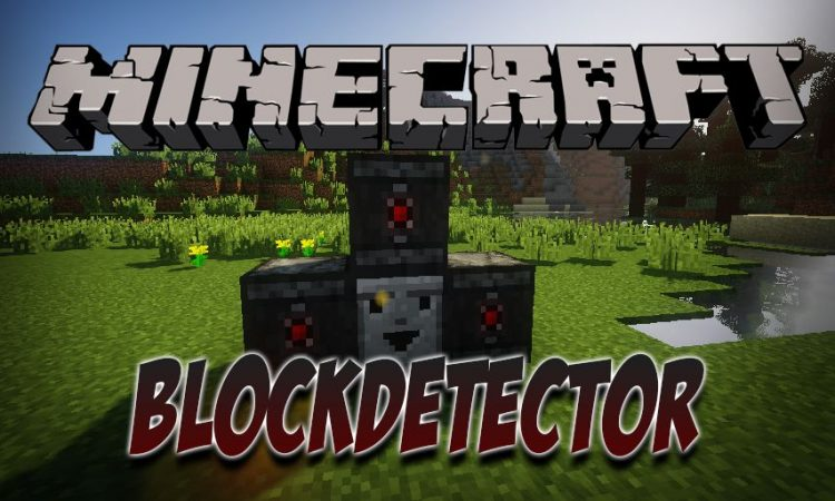 BlockDetector mod for Minecraft logo