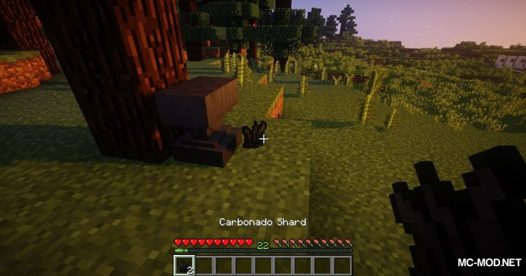 Carbonado Ore mod for Minecraft (16)