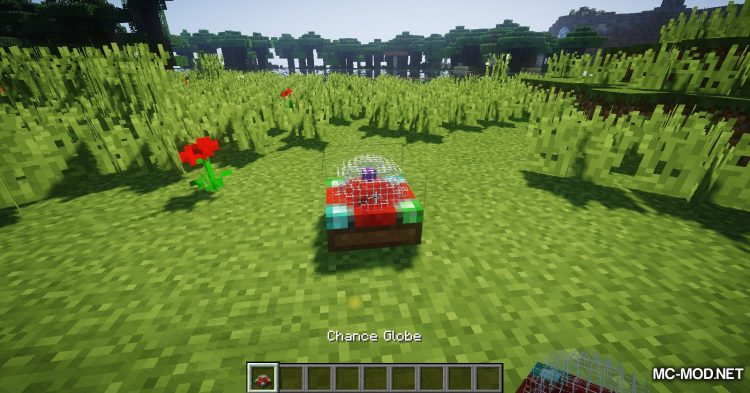 Chance Globe mod for Minecraft (5)