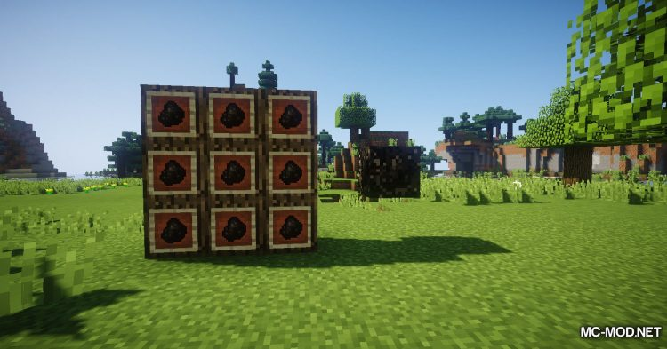 Charcoal Block Mod mod for Minecraft (1)