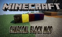 Charcoal Block Mod mod for Minecraft logo