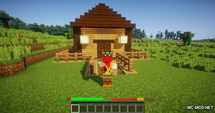 Classic Bars mod for Minecraft (3)