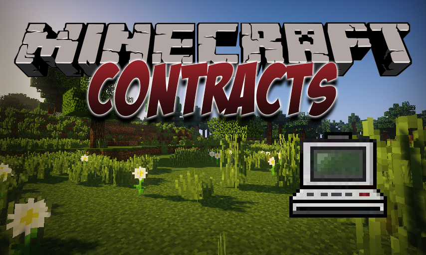 Contracts mod for Minecraft logo