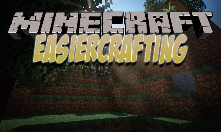 EasierCrafting mod for Minecraft logo