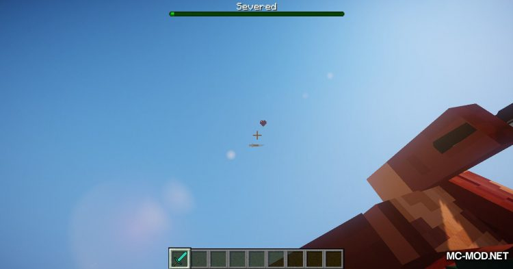Giant Player Boss mod for Minecraft (11)