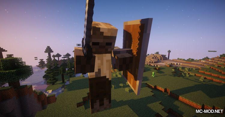 Giant Player Boss mod for Minecraft (4)