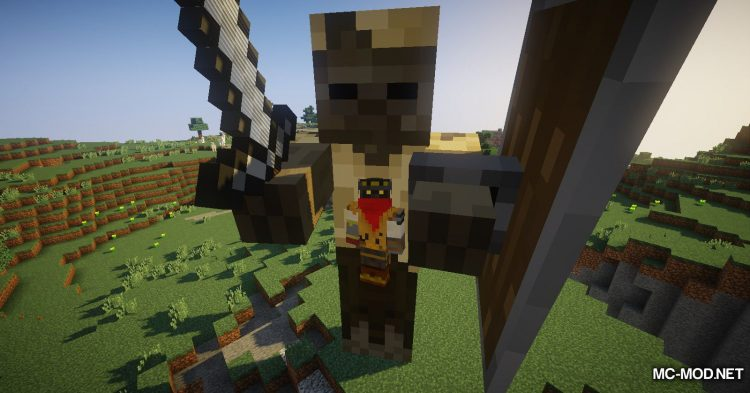 Giant Player Boss mod for Minecraft (5)