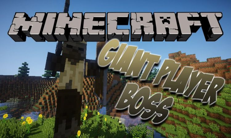 Giant Player Boss mod for Minecraft logo