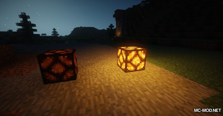 Lamp Block mod for Minecraft (10)