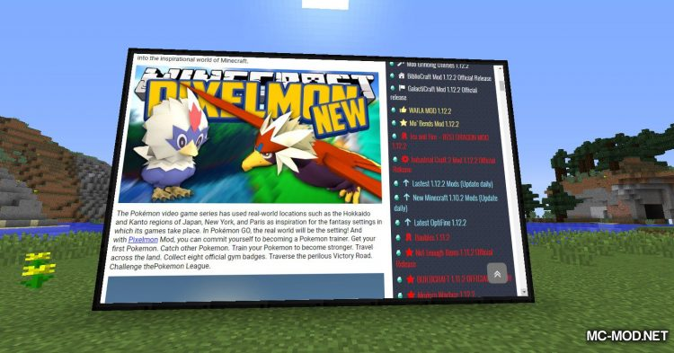 MCEF mod for Minecraft (4)