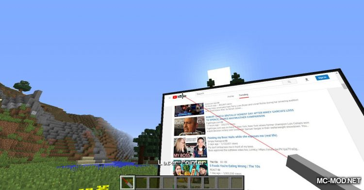 MCEF mod for Minecraft (7)