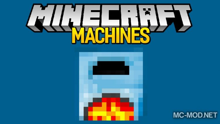 Machines mod for minecraft logo