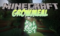 [SBM] Growmeal mod for Minecraft logo