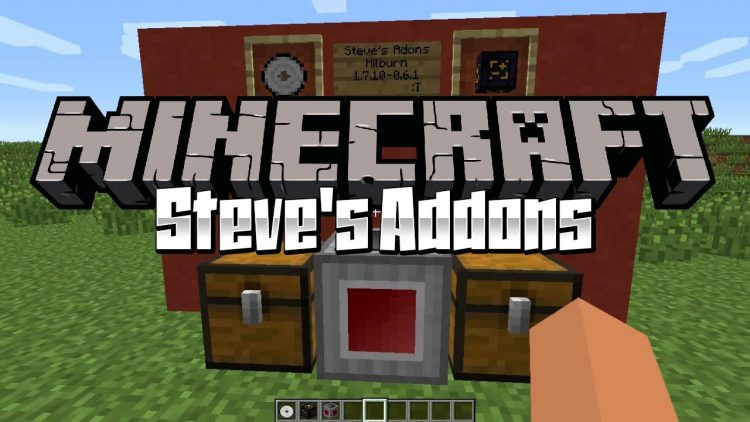 Steve_s Addons mod for minecraft logo