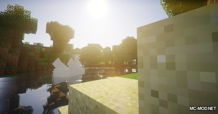 Swan Boats mod for Minecraft (12)