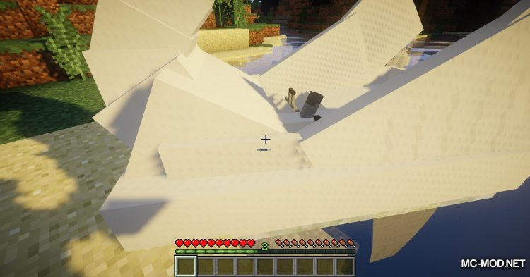 Swan Boats mod for Minecraft (7)