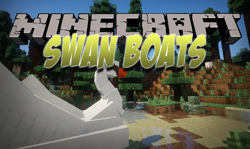 Swan Boats mod for Minecraft logo