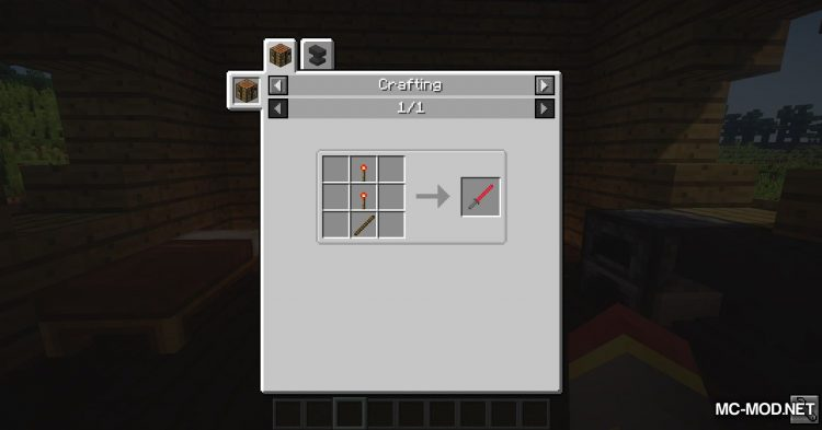 ToLaserBlade mod for Minecraft (2)