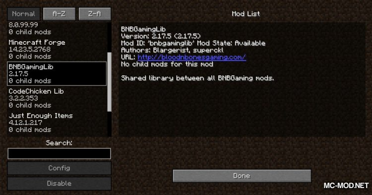Topography mod for Minecraft (2)