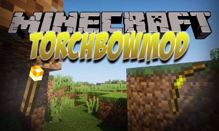 TorchBowMod mod for Minecraft logo