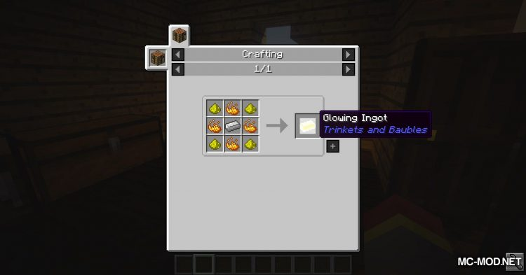 Trinkets and Baubles mod for Minecraft (1)