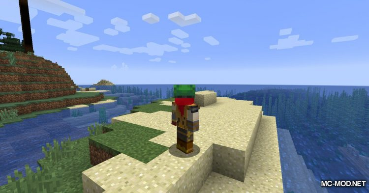 Turtle Shell Drop mod for Minecraft (16)