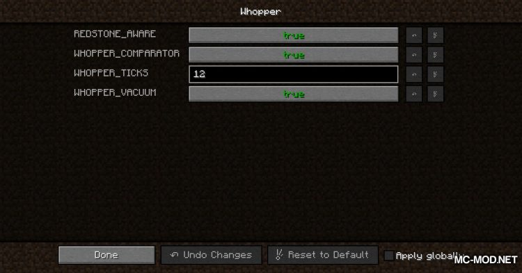 Whopper mod for Minecraft (2)