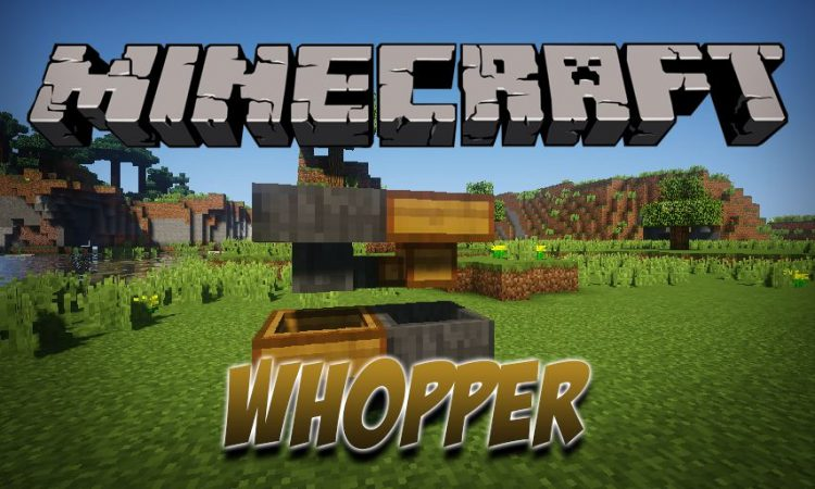 Whopper mod for Minecraft logo
