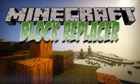 WorldGen Block Replacer mod for Minecraft logo