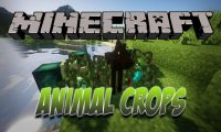 Animal Crops mod for Minecraft logo