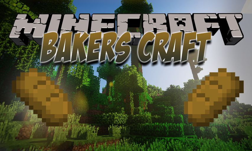 Bakers Craft mod for Minecraft logo