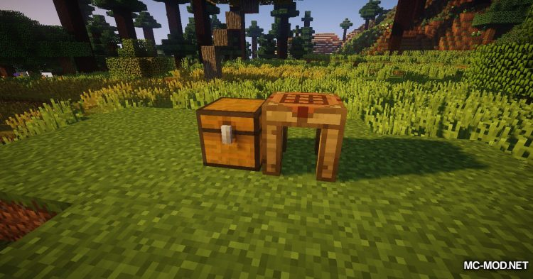 Crafting Station mod for Minecraft (10)