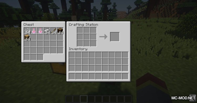 Crafting Station mod for Minecraft (11)
