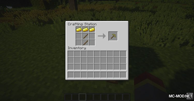 Crafting Station mod for Minecraft (8)