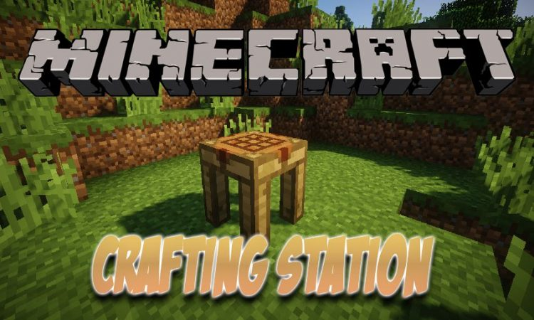 Crafting Station mod for Minecraft logo