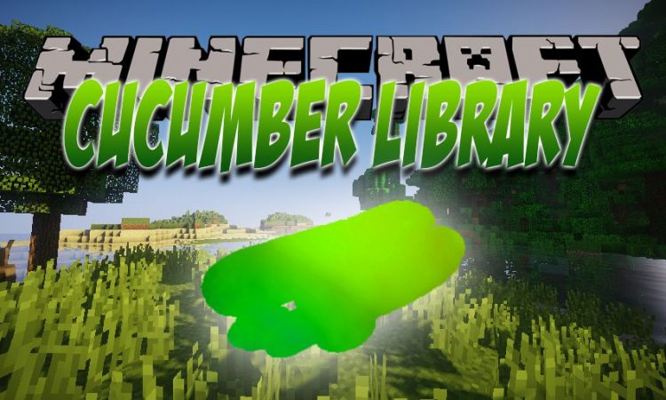 Cucumber Library mod for Minecraft logo