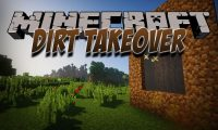 Dirt Takeover mod for Minecraft logo