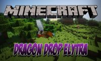 Dragon Drop Elytra mod for Minecraft logo