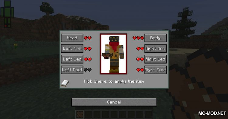 First Aid mod for Minecraft (7)