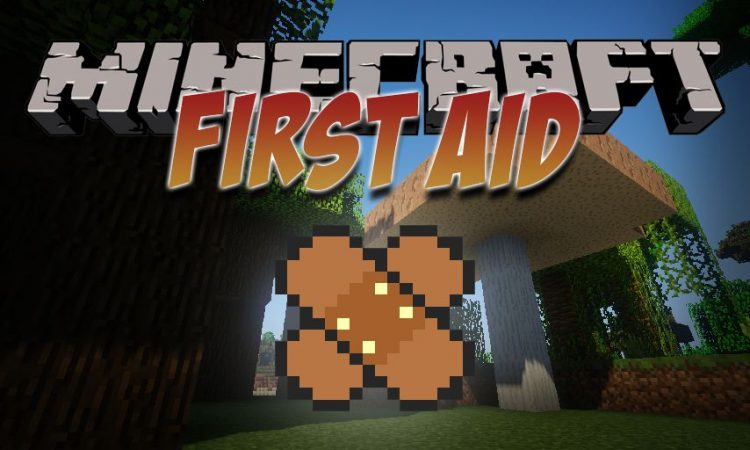 First Aid mod for Minecraft logo