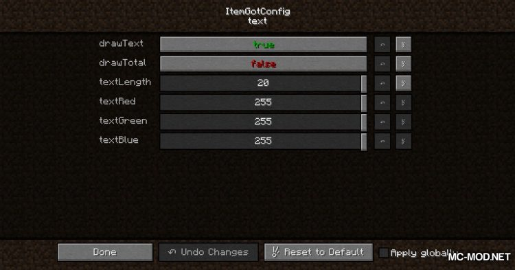 Item Got mod for Minecraft (12)
