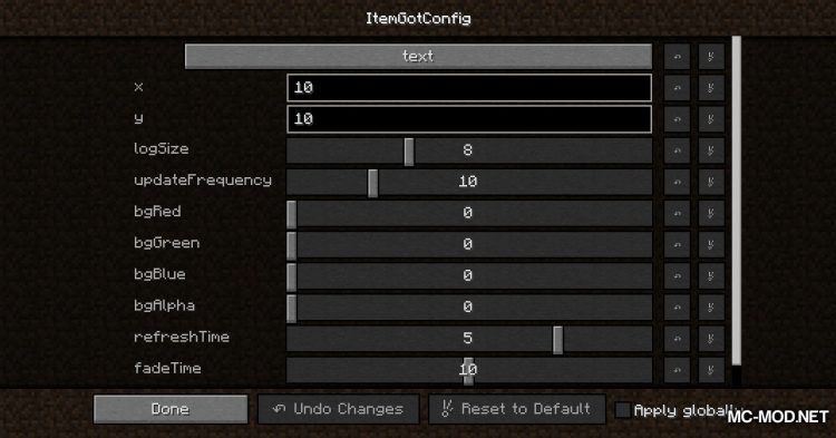 Item Got mod for Minecraft (2)