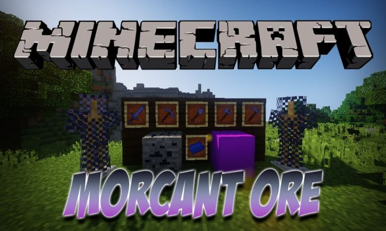 Morcant Ore mod for Minecraft logo